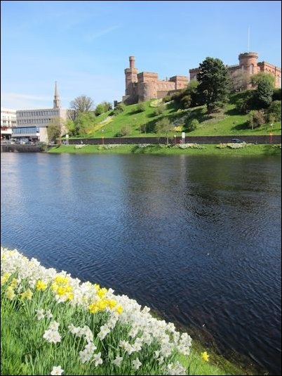 Inverness Castle on the River Ness
